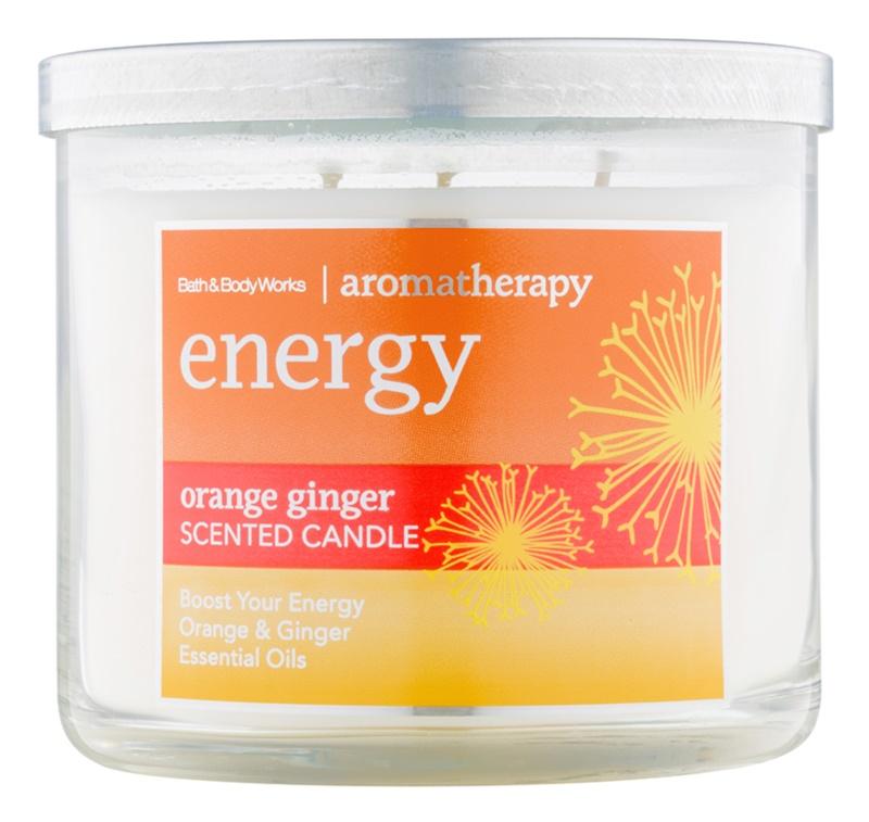 Bath & Body Works Energy Orange Ginger vela perfumado 411 g