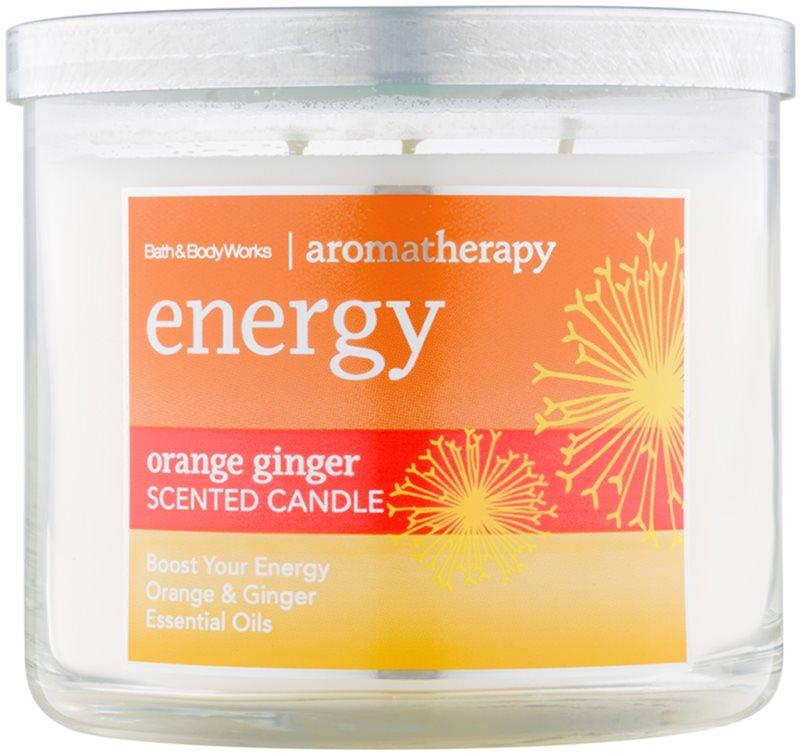Bath & Body Works Energy Orange Ginger vonná svíčka 411 g