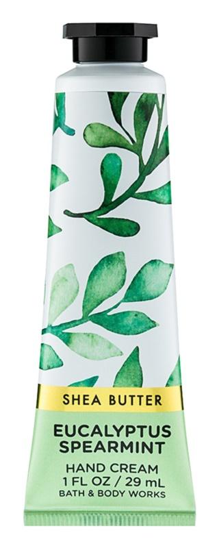Bath & Body Works Eucalyptus Spearmint crema de maini