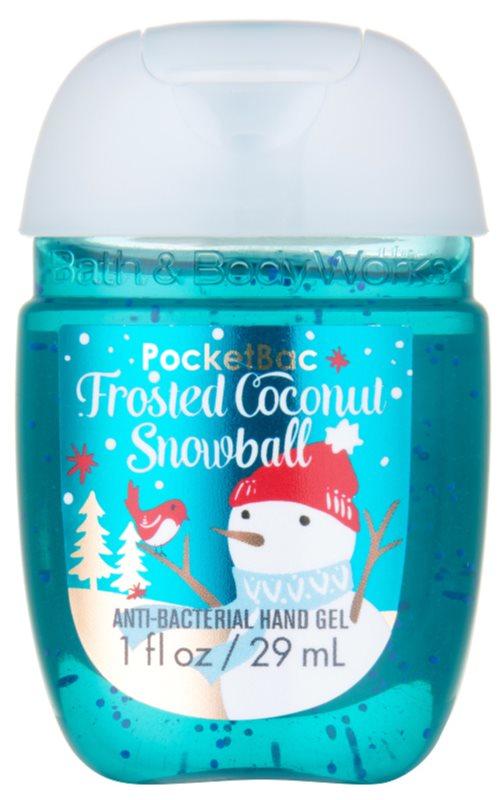Bath & Body Works PocketBac Frosted Coconut Snowball Hand Gel