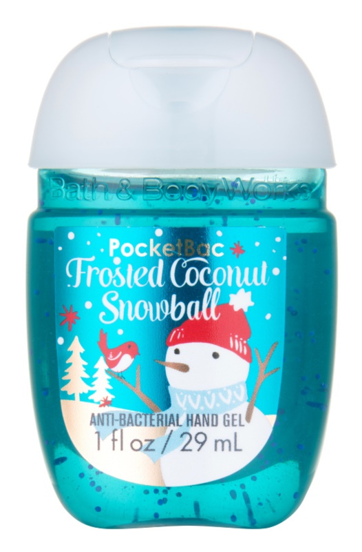 Bath & Body Works PocketBac Frosted Coconut Snowball żel do rąk