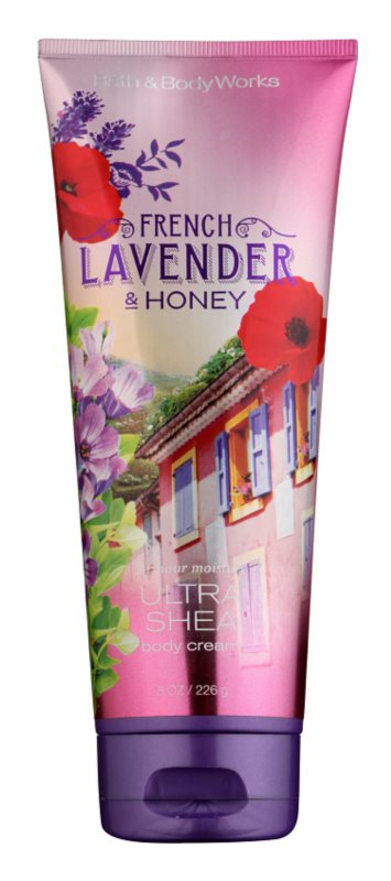 Bath & Body Works French Lavender And Honey Body Cream for Women 226 g