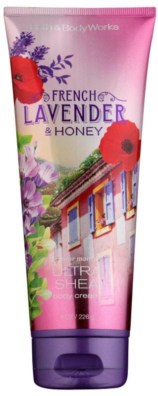 Bath & Body Works French Lavender And Honey tělový krém pro ženy 226 g