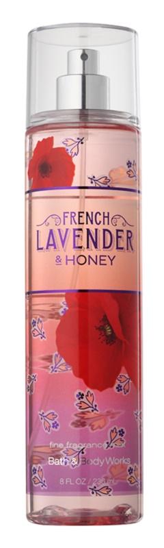 Bath & Body Works French Lavender And Honey testápoló spray nőknek 236 ml