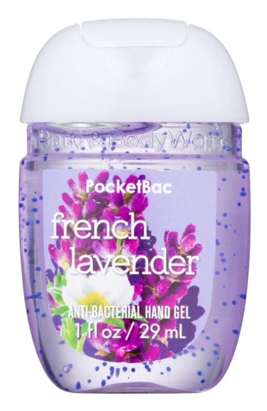Bath & Body Works PocketBac French Lavender antibakteriálny gél na ruky