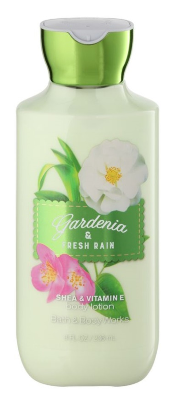 Bath & Body Works Gardenia & Fresh Rain telové mlieko pre ženy 236 ml