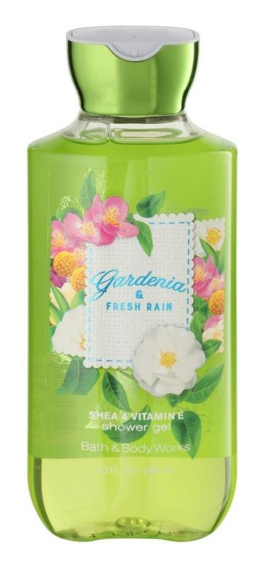 Bath & Body Works Gardenia & Fresh Rain Duschgel für Damen 295 ml