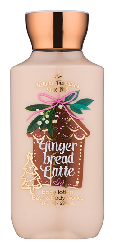 Bath & Body Works Gingerbread Latte latte corpo per donna 236 ml