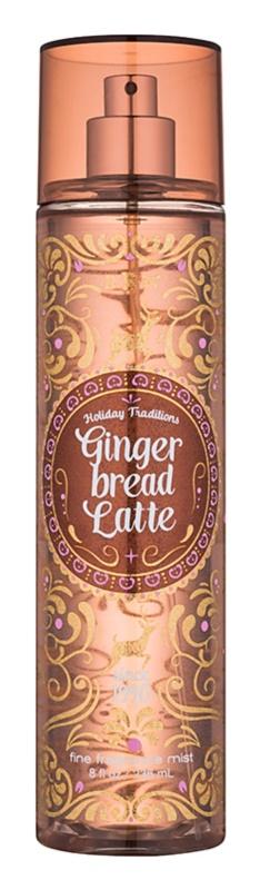 Bath & Body Works Gingerbread Latte spray corpo per donna 236 ml