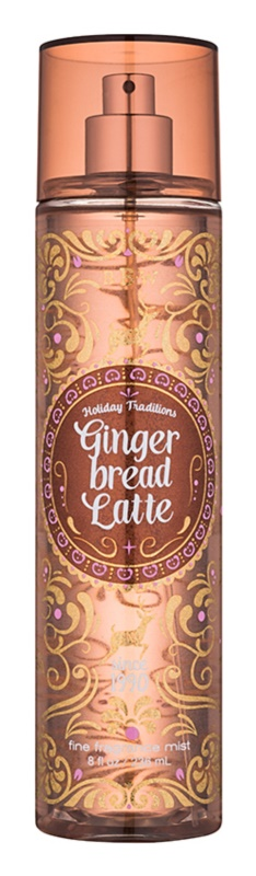 Bath & Body Works Gingerbread Latte spray pentru corp pentru femei 236 ml