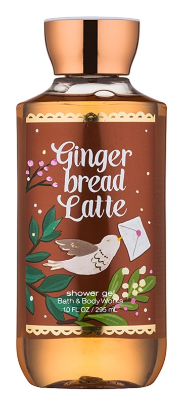 Bath & Body Works Gingerbread Latte gel douche pour femme 295 ml