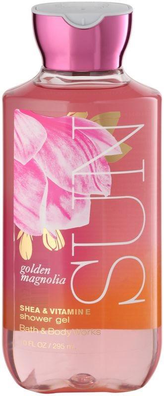 Bath & Body Works Golden Magnolia Sun gel doccia per donna 295 ml