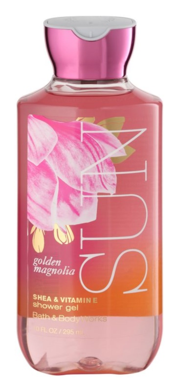 Bath & Body Works Golden Magnolia Sun gel douche pour femme 295 ml