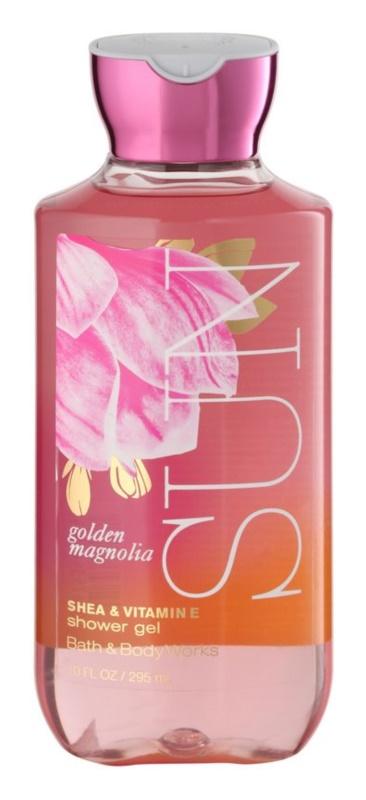 Bath & Body Works Golden Magnolia Sun sprchový gél pre ženy 295 ml