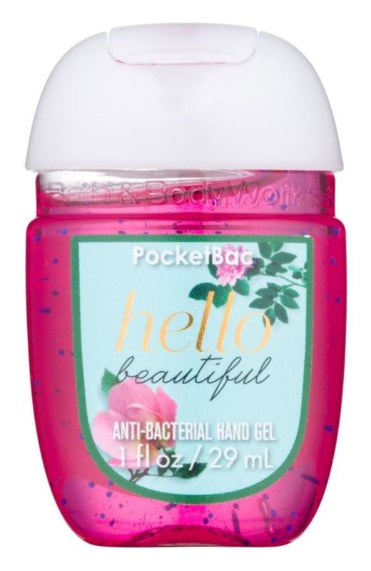 Bath & Body Works PocketBac Hello Beautiful gel  para as mãos