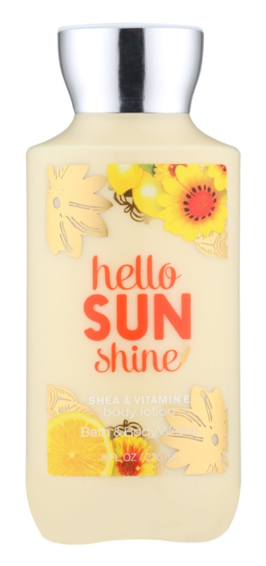 Bath & Body Works Hello Sunshine Body Lotion for Women 236 ml