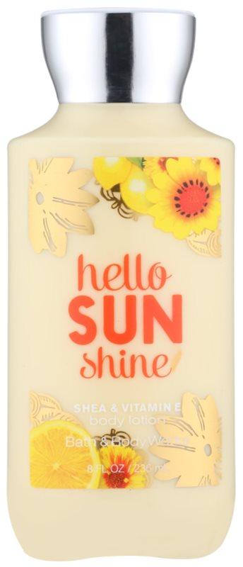 Bath & Body Works Hello Sunshine Bodylotion  voor Vrouwen  236 ml