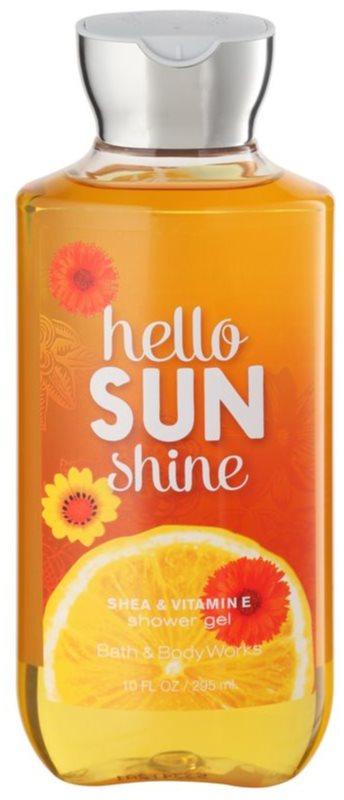 Bath & Body Works Hello Sunshine gel za prhanje za ženske 295 ml