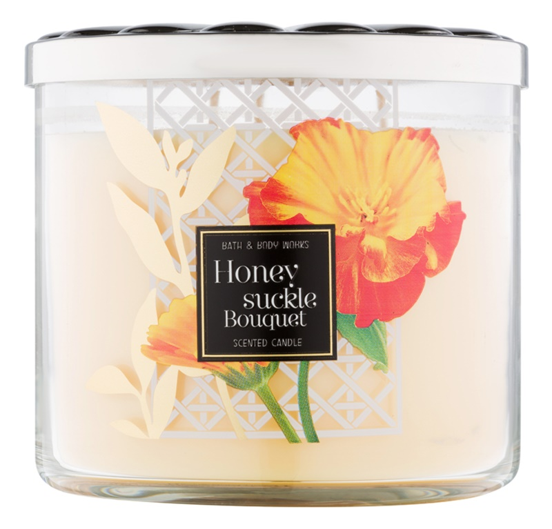 Bath & Body Works Honeysuckle Bouquet Scented Candle 411 g