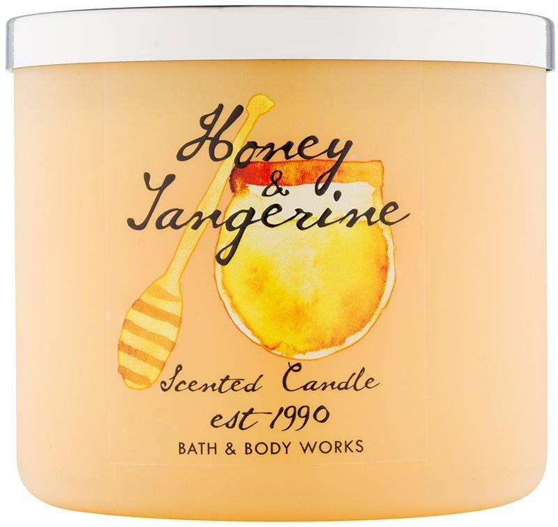 Bath & Body Works Honey & Tangerine Geurkaars 411 gr