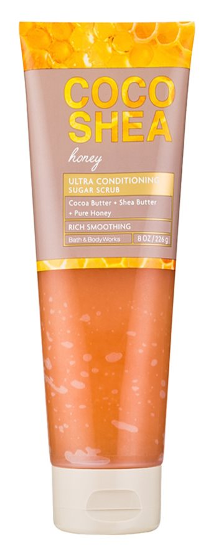 Bath & Body Works Cocoshea Honey exfoliant de corp pentru femei 226 g