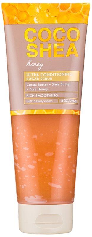 Bath & Body Works Cocoshea Honey telový peeling pre ženy 226 g