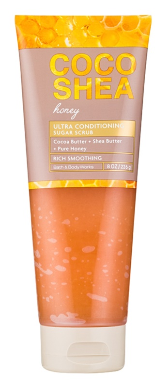 Bath & Body Works Cocoshea Honey tělový peeling pro ženy 226 g