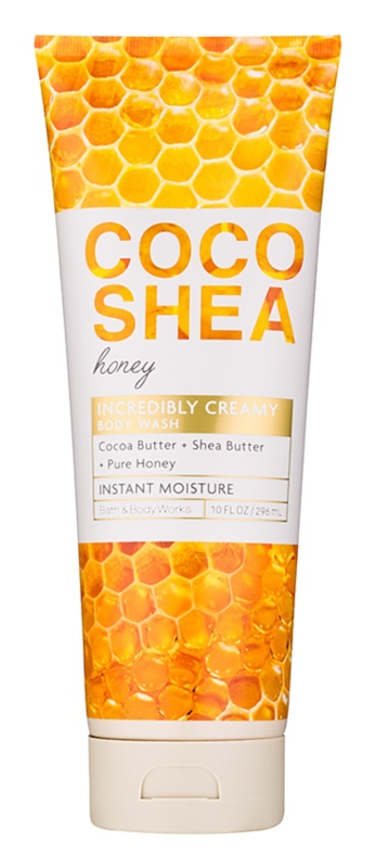 Bath & Body Works Cocoshea Honey Douchegel voor Vrouwen  296 ml