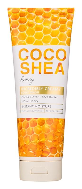 Bath & Body Works Cocoshea Honey sprchový gel pro ženy 296 ml