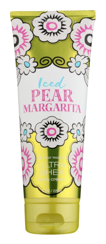 Bath & Body Works Iced Pear Margarita crème corps pour femme 226 g