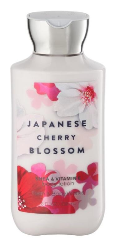 Bath & Body Works Japanese Cherry Blossom tělové mléko pro ženy 236 ml