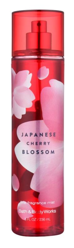 Bath & Body Works Japanese Cherry Blossom spray corporel pour femme 236 ml
