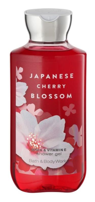 Bath & Body Works Japanese Cherry Blossom Douchegel voor Vrouwen  295 ml