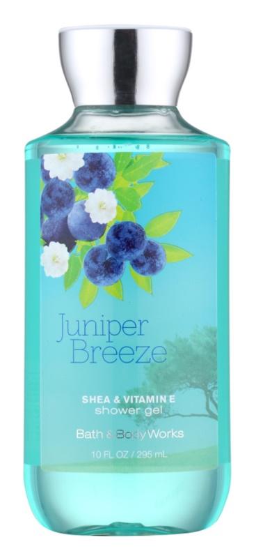Bath & Body Works Juniper Breeze sprchový gél pre ženy 295 ml