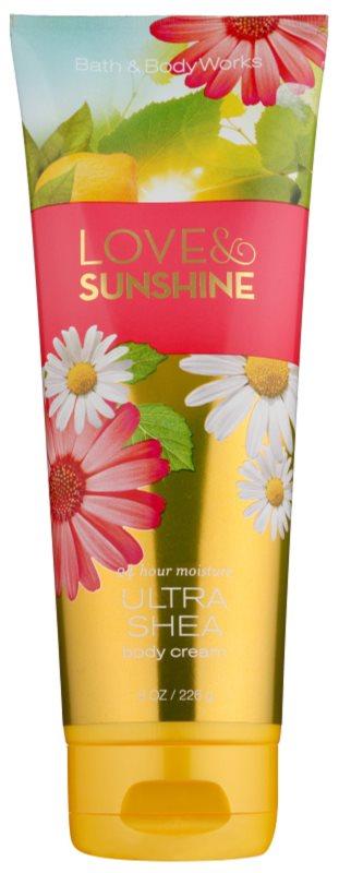 Bath & Body Works Love and Sunshine Body Cream for Women 226 g