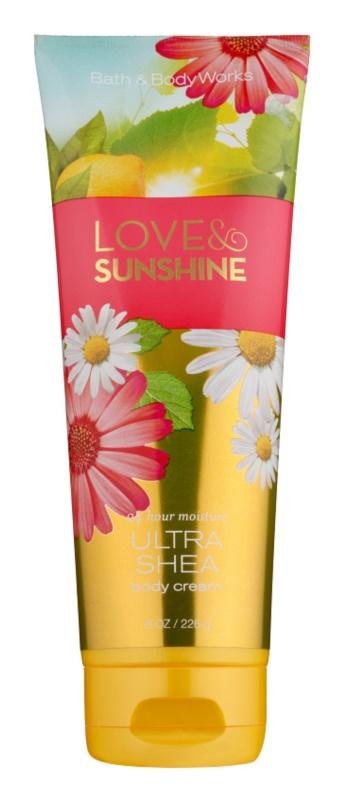 Bath & Body Works Love and Sunshine crema corpo per donna 226 g