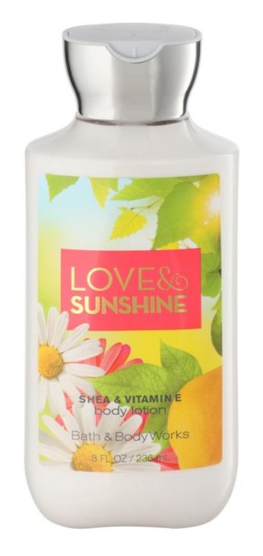 Bath & Body Works Love and Sunshine lapte de corp pentru femei 236 ml