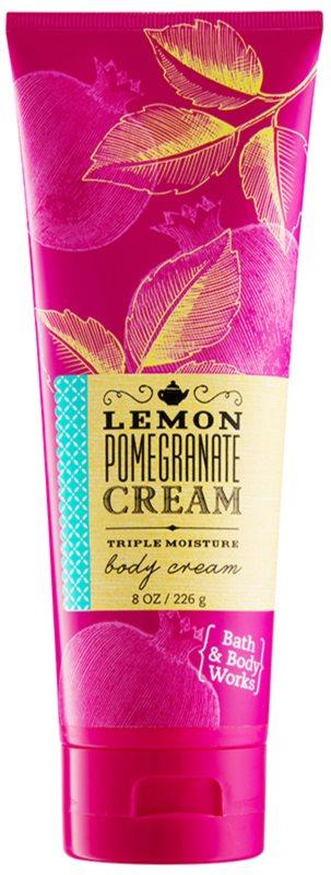 Bath & Body Works Lemon Pomegranate krem do ciała dla kobiet 226 g