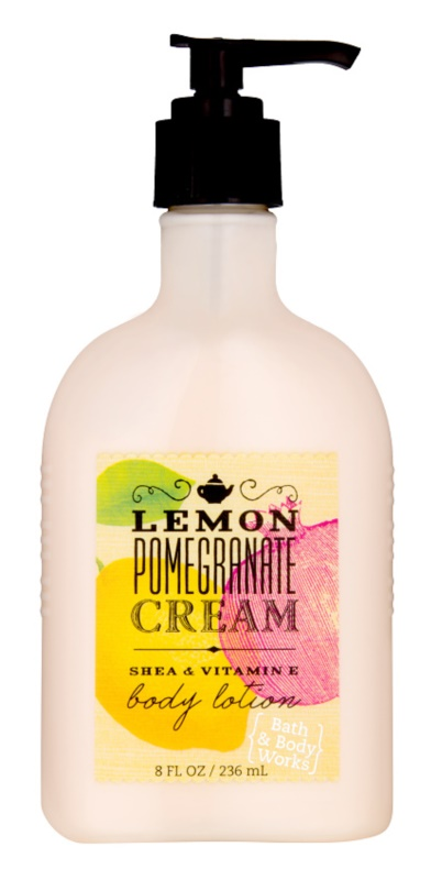 Bath & Body Works Lemon Pomegranate latte corpo per donna 236 ml