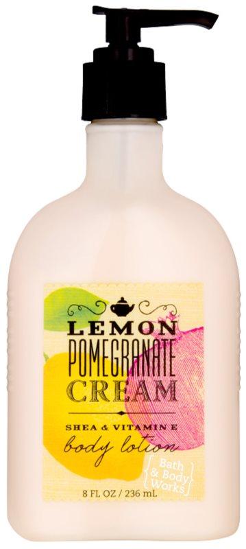 Bath & Body Works Lemon Pomegranate tělové mléko pro ženy 236 ml