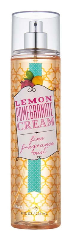 Bath & Body Works Lemon Pomegranate spray corporel pour femme 236 ml
