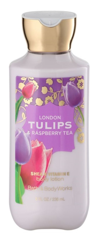 Bath & Body Works London Tulips & Raspberry Tea Bodylotion  voor Vrouwen  236 ml
