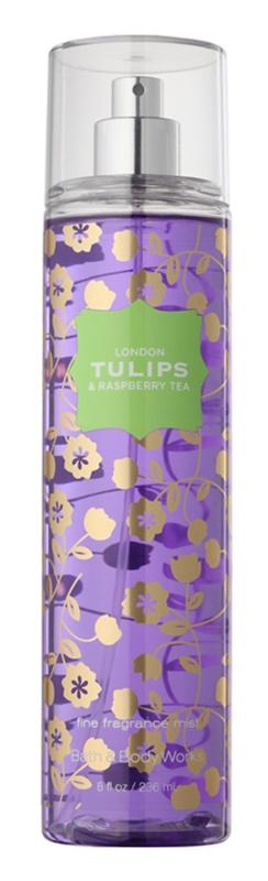 Bath & Body Works London Tulips & Raspberry Tea spray de corpo para mulheres 236 ml