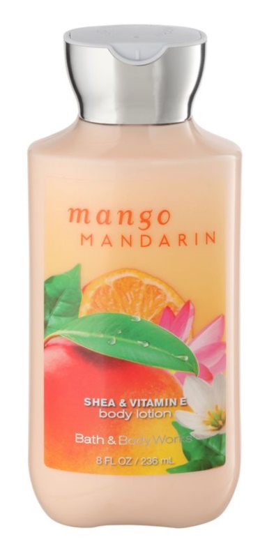 Bath & Body Works Mango Mandarin tělové mléko pro ženy 236 ml