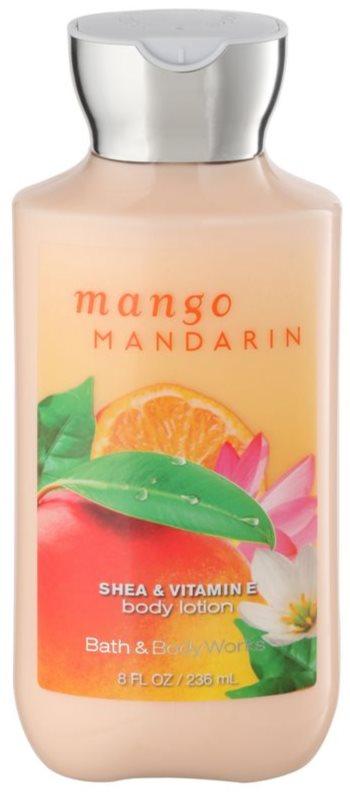 Bath & Body Works Mango Mandarin telové mlieko pre ženy 236 ml