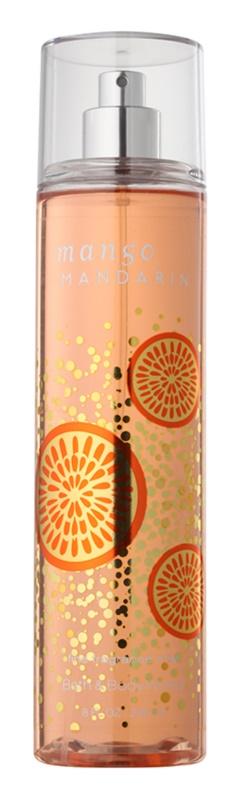 Bath & Body Works Mango Mandarin Bodyspray  voor Vrouwen  236 ml