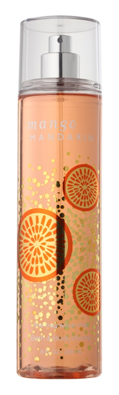 Bath & Body Works Mango Mandarin spray corpo per donna 236 ml