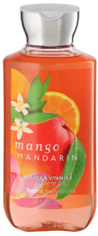 Bath & Body Works Mango Mandarin Duschgel für Damen 295 ml