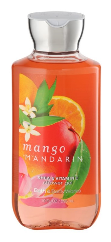 Bath & Body Works Mango Mandarin gel douche pour femme 295 ml