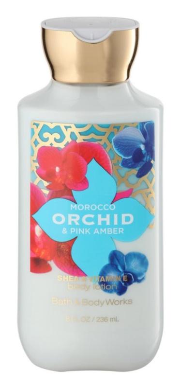 Bath & Body Works Morocco Orchid & Pink Amber Körperlotion für Damen 236 ml